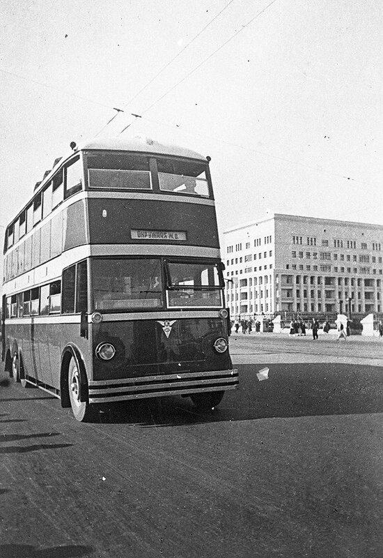 Двухэтажный автобус в СССР