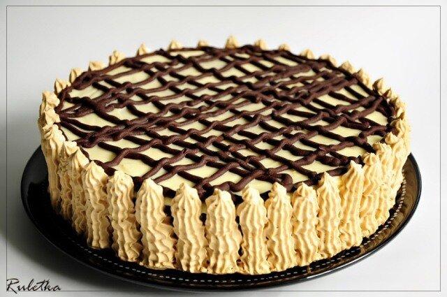 Рецепт тортика сметанник