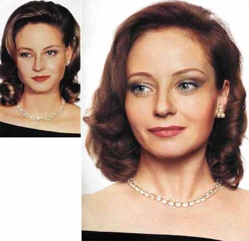 Евгения Добровольская и Джоди Фостер.jpg