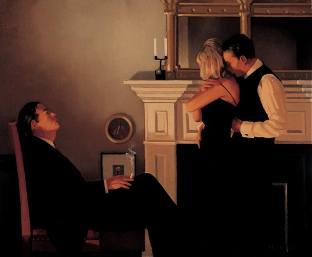 Beautiful Losers II by Jack Vettriano.