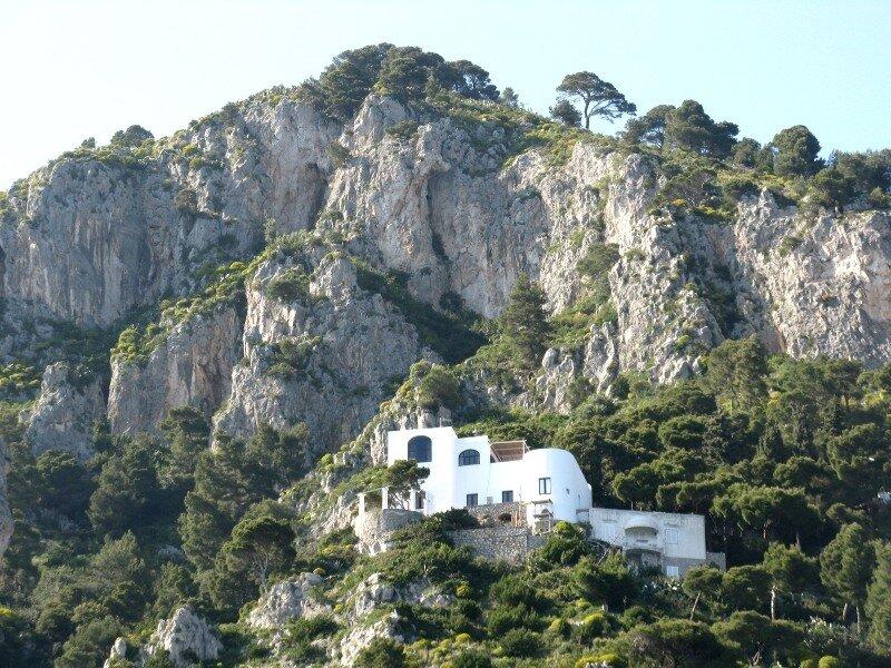 Капри. Гора  Туоро (Monte Tuoro)