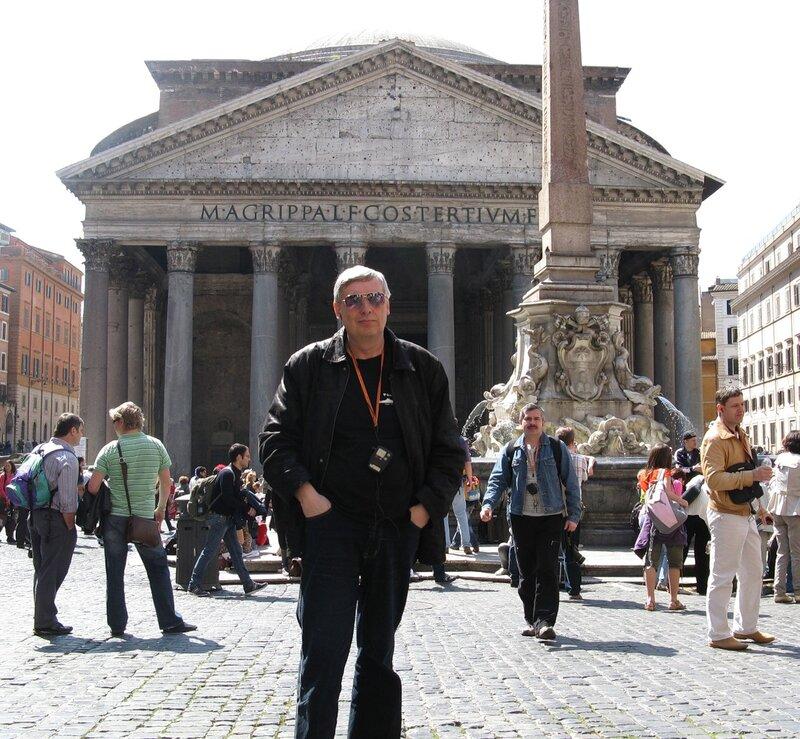 Рим. Площадь Ротонды (Piazza della Rotonda)