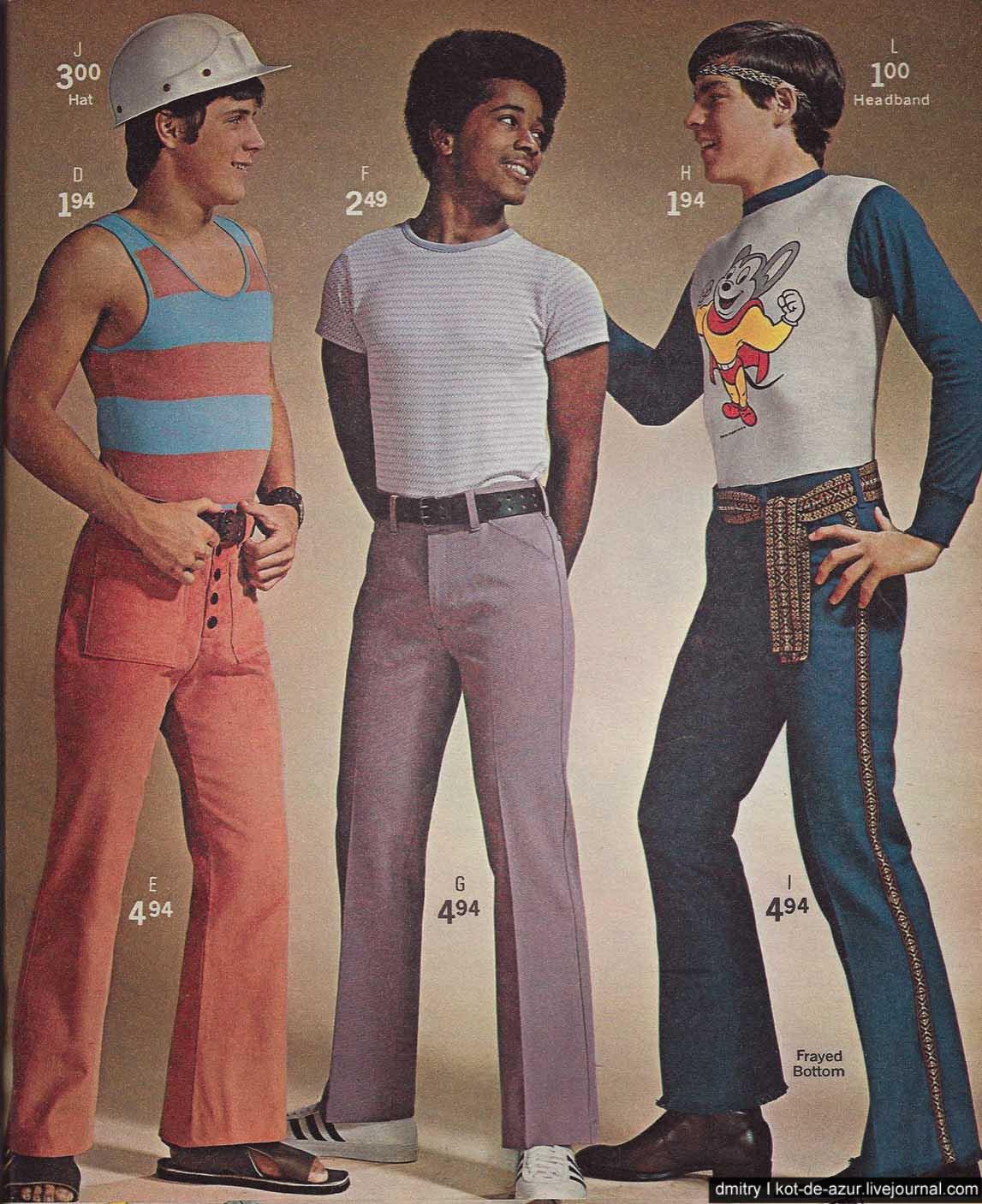 Внезапно мужская мода 70-х