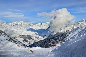 В январе в Альпах