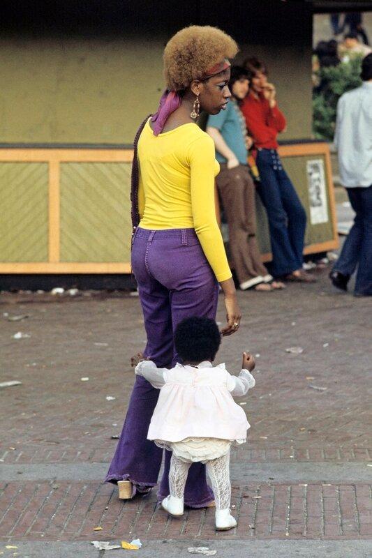 Гарлем 1970-ых , еще наполненный жизнью