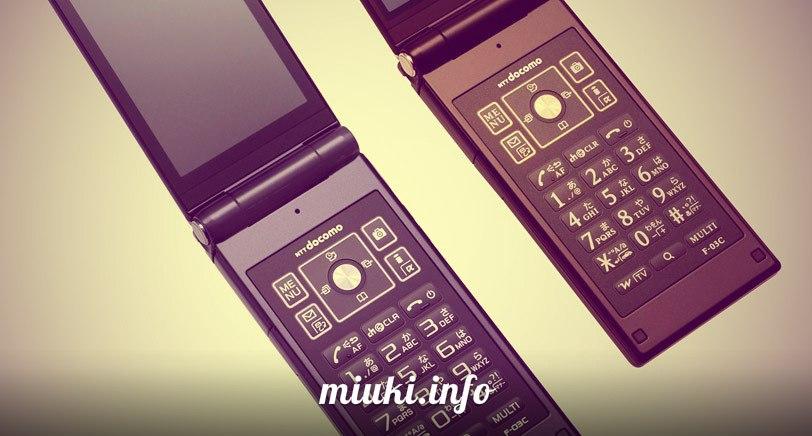 Японские мобильные телефоны в России