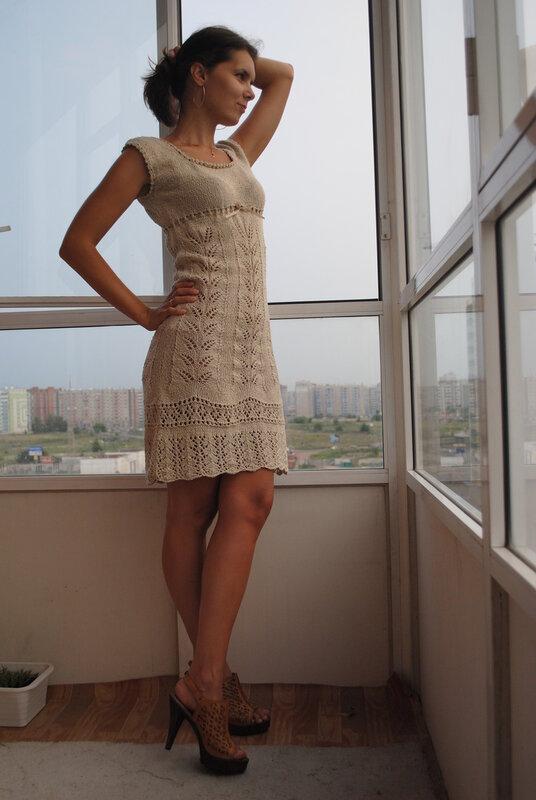 Вязание платье верена