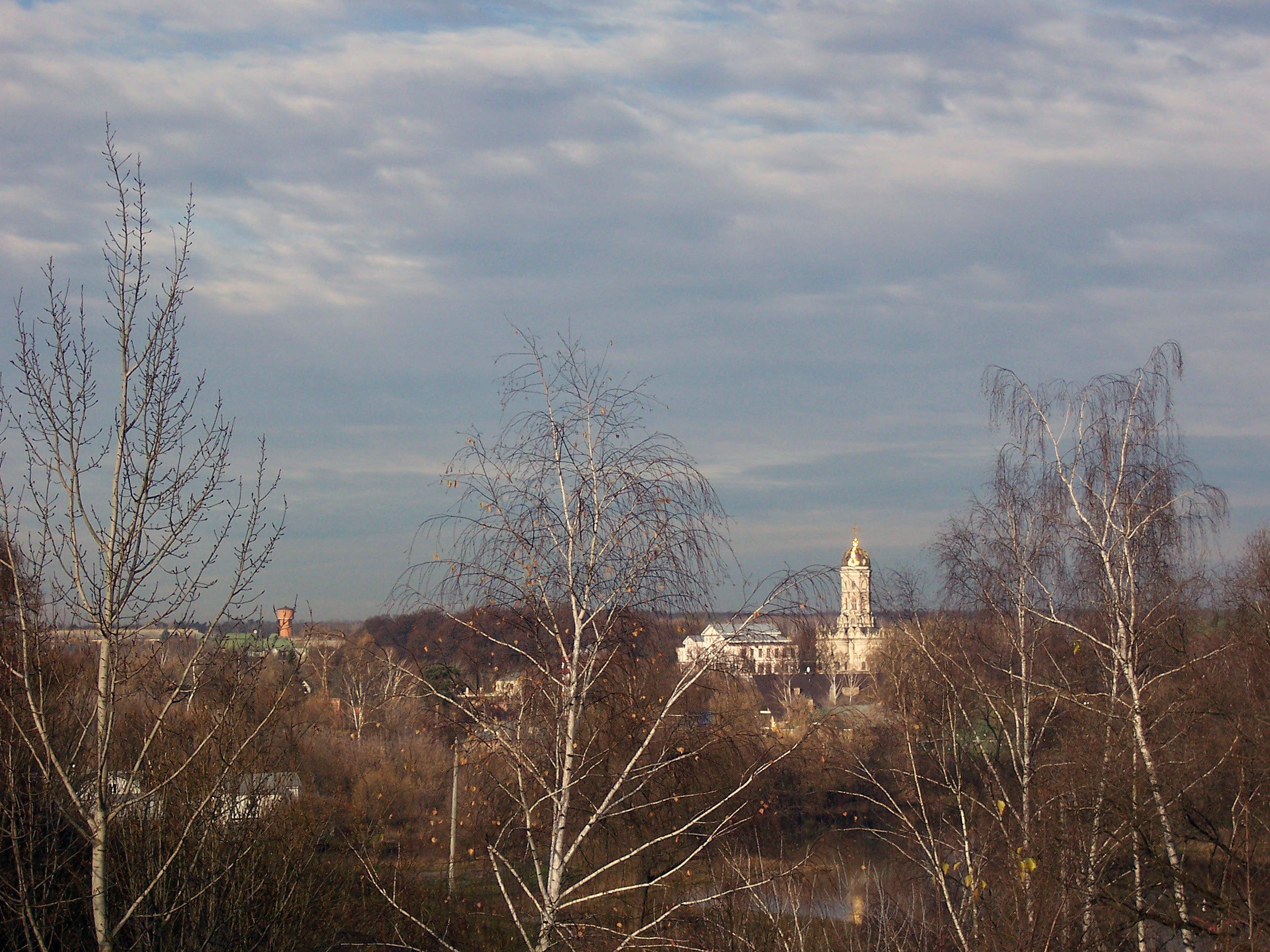 вид на Дубровицкую церковь в 2013 году