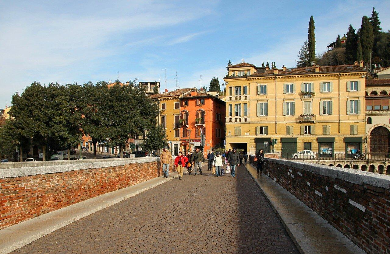 Верона. Каменный мост (Ponte Pietra)