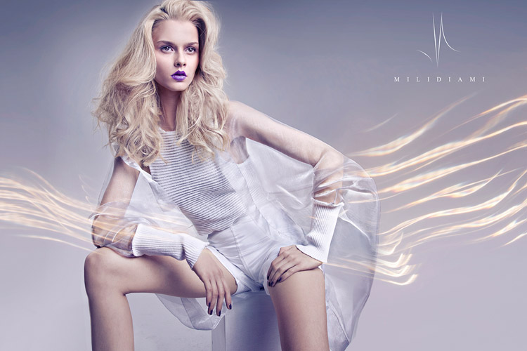 Милена Жукович для Milidiami Spring Summer 2015