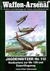 Журнал Jagdeinsitzer He 112. Konkurrenz zur Me 109 und Exportflugzeug