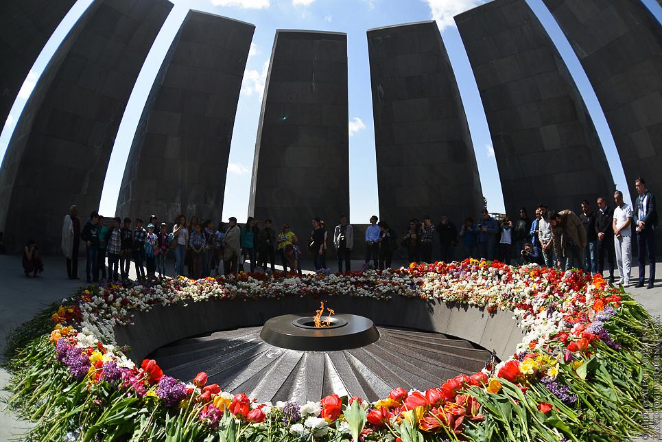 путешествия и прочее - Цицернакаберд в Ереване