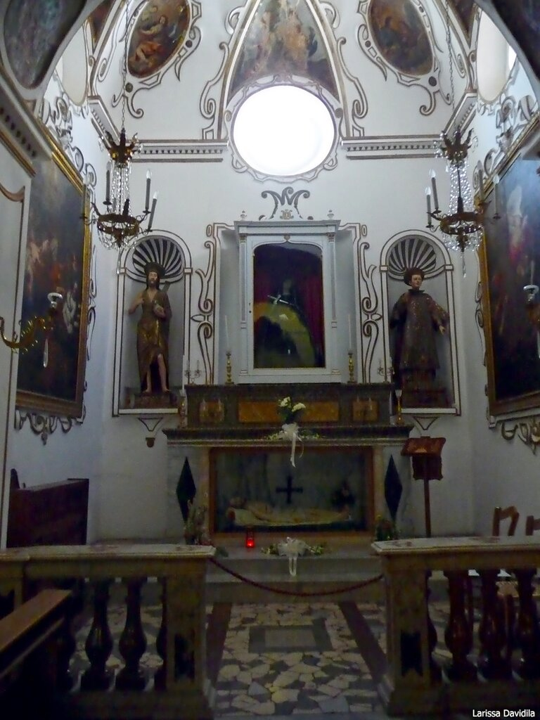 Капелла в церкви Matrice Vecchia. Castelbuono.