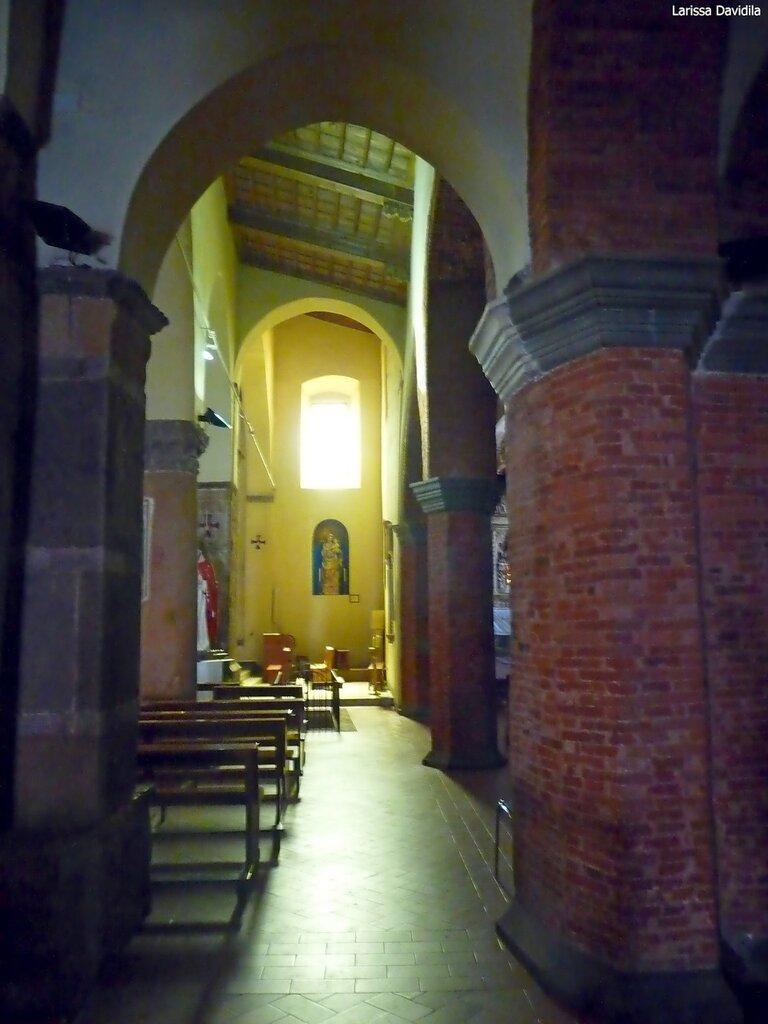 Фрагмент интерьера церкви Matrice Vecchia, 14 в. Castelbuono.
