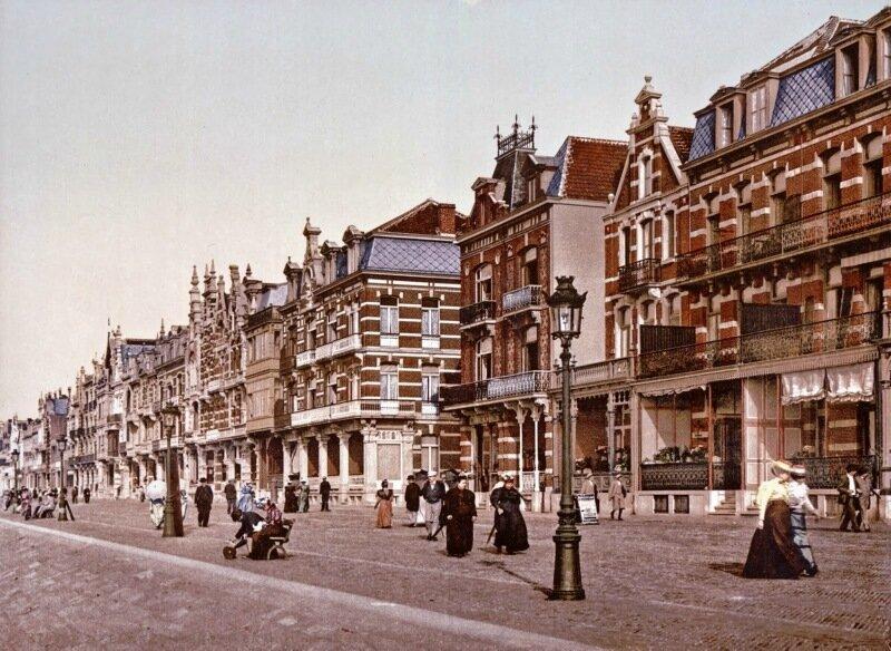 The beach and villas, Blankenberghe, Belgium, ca. 1890-1900.jpg