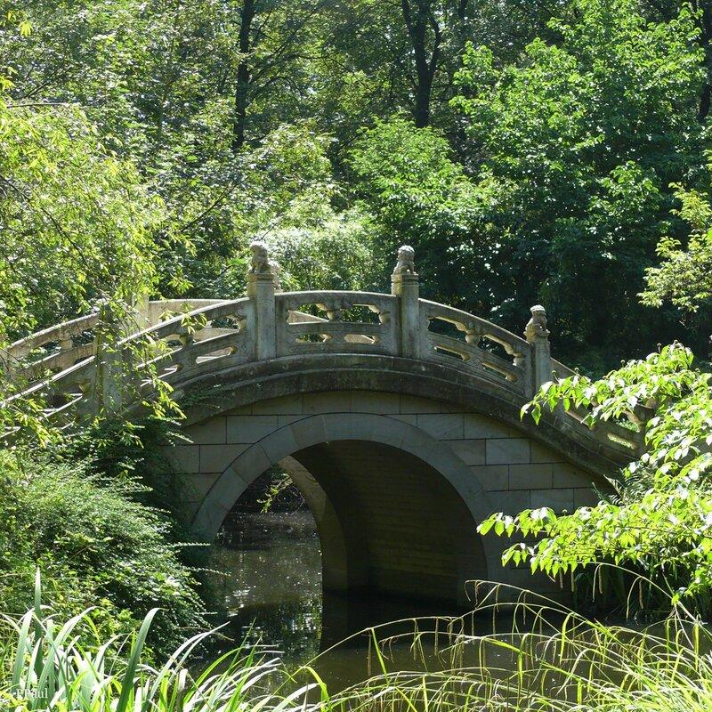 Китайский уголок Дюйсбургского зоопарка