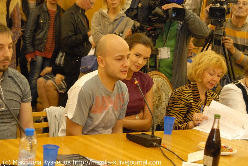 Паулина Андреева и Егор Баранов