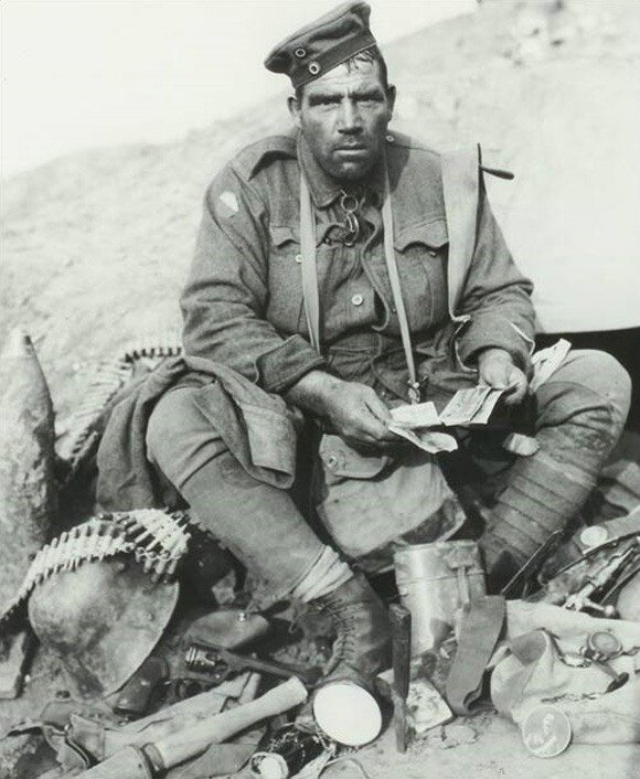 Бравый солдат Хайнс.