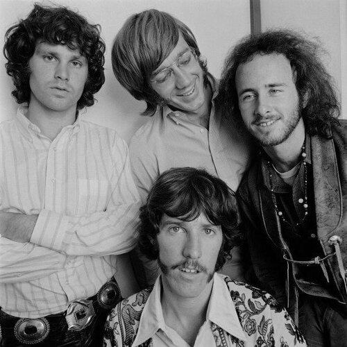 Jim Morrison,Ray Manzarek,  Robby Krieger , John Densmore The Doors