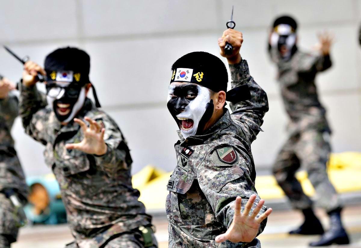 На учебном поле брани: Картинки из жизни бойцов различных спецназов (5)