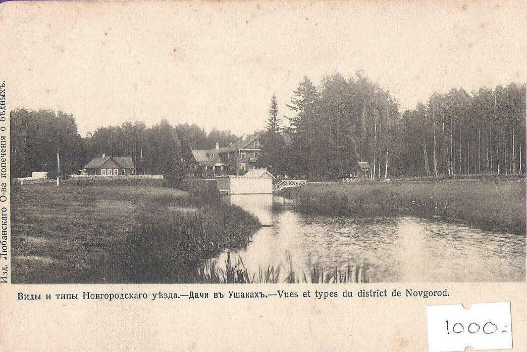 Окрестности Новгорода. Ушаки. Дачи