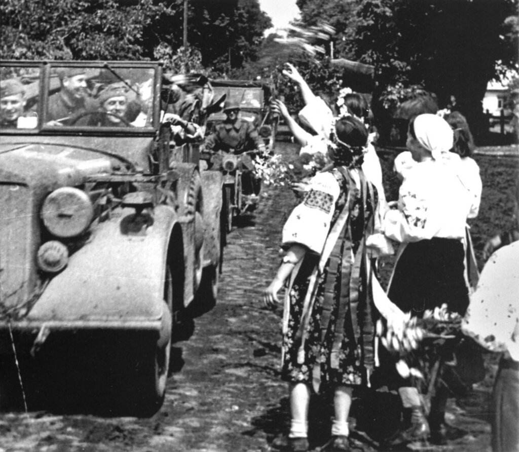 Украина, июль 1941