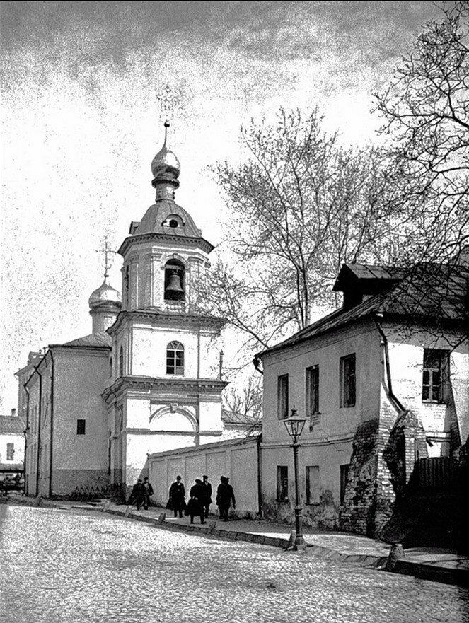 524. Церковь Знамения Пресвятой на Знаменке