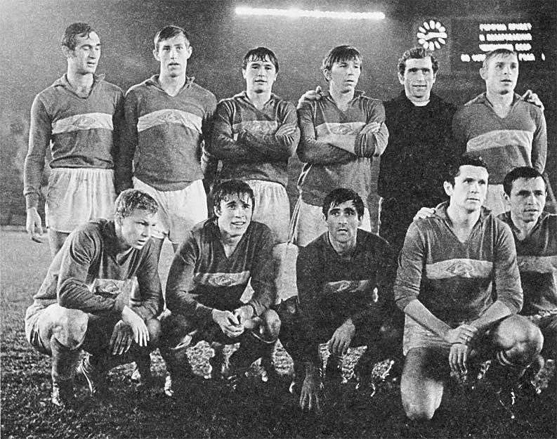 """ФК """"Спартак"""" - чемпион СССР 1969 года"""