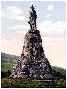black watch Monument-Aberfeldy