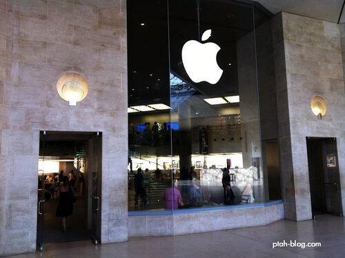 Apple Store, Париж, Лувр