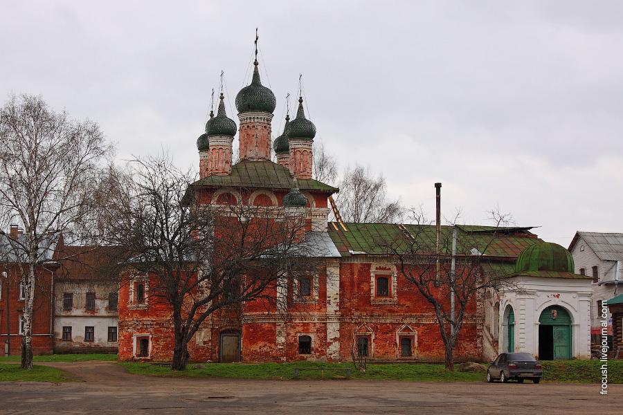 Богоявленский монастырь. Церковь Смоленской иконы Божией матери.