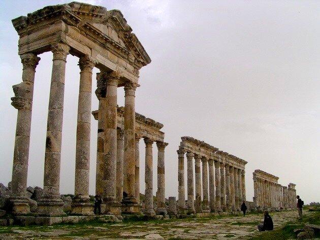 Античный город Апамея. Сирия