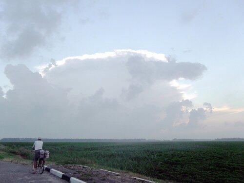 Велопробег под дождевыми облаками. 16.06.2011