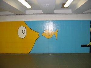рисунки в туннеле Стокман