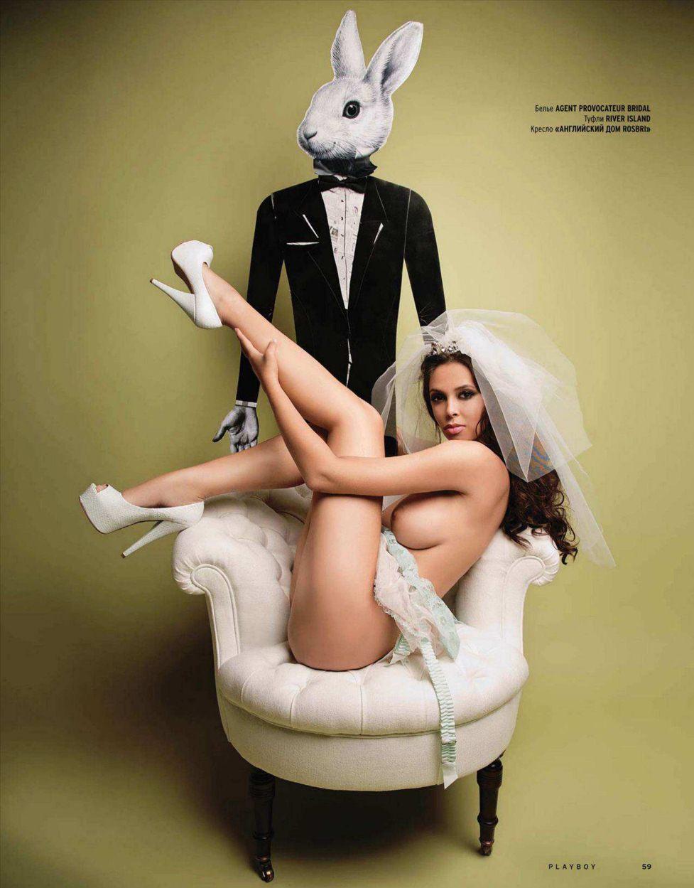 Anastasia Novodran / Девушка года Анастасия Новодран в Playboy Russia в июле 2011