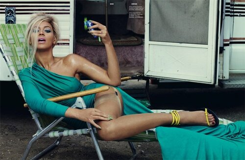 Бейонсе Ноулз / Beyonce Knowles by Sharif Hamza in Dazed and Confused july 2011