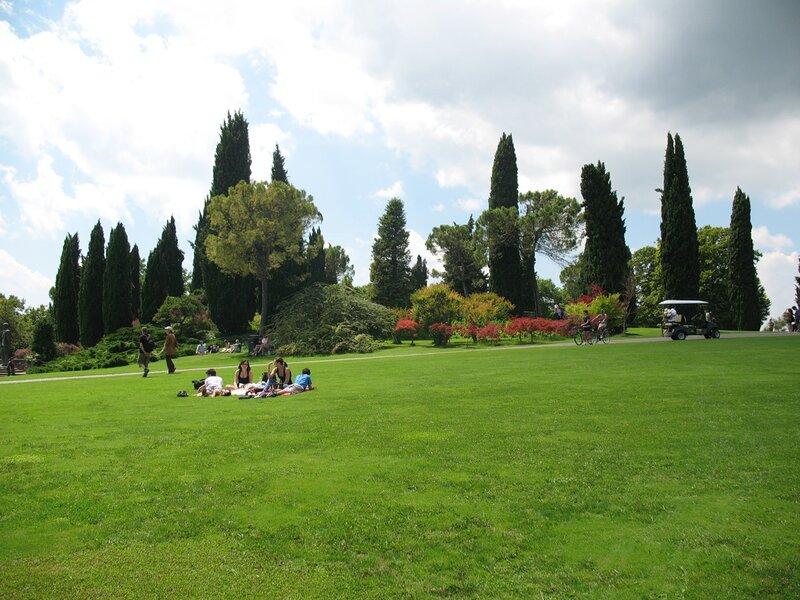 В парке Сигурта.Отдых.
