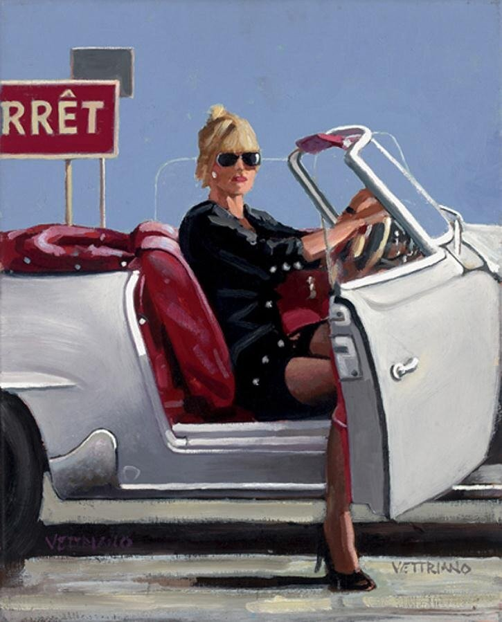 Malice Aforethought, by Jack Vettriano