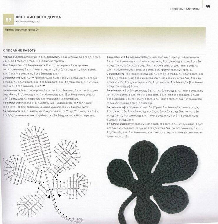 """Продолжаю собирать схемы вязания ирландских мотивов.  Как я заметила, журнал  """"Дуплет """" - это сундук с такими схемами..."""