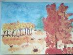 Цымбалюк Анастасия (рук. Рассохина Татьяна Петровна) - Осенние краски
