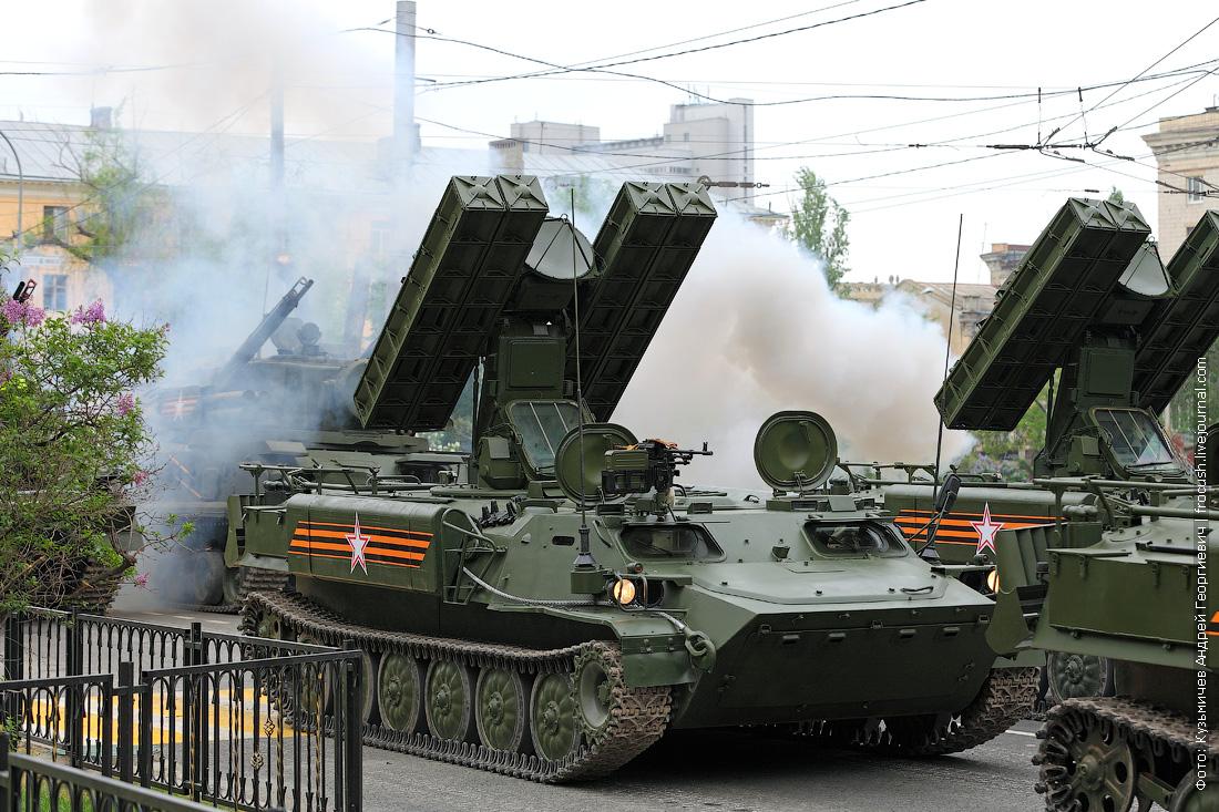 генеральная репетиция парада Победы в Волгограде военная наземная техника