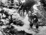 Жители деревни Малая Уторгола скрываются от фашистов в лесу..jpg
