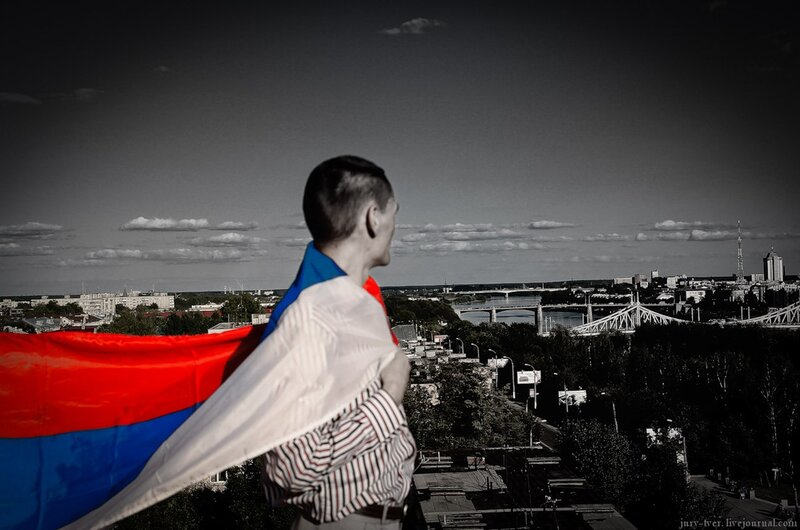 Просматривает изображение Тверь. День Государственного флага Российской Федерации - Тверской Форум