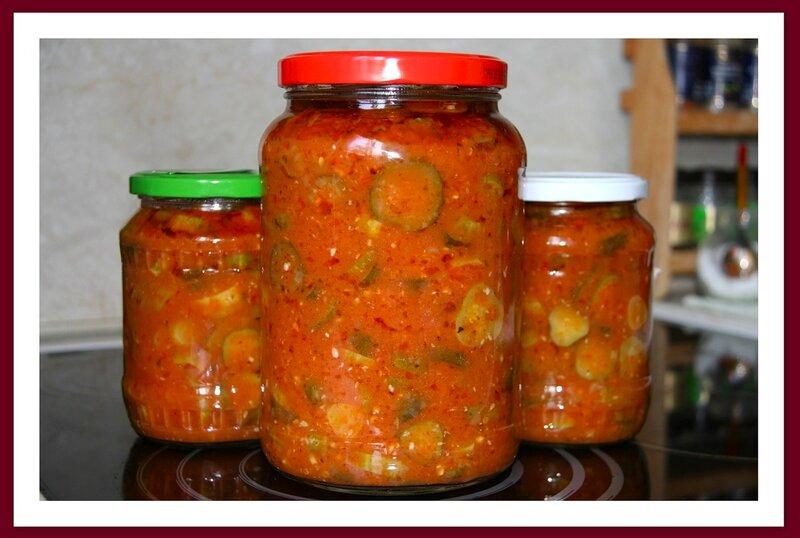 Салат из огурцов (запасы на зиму) :-))