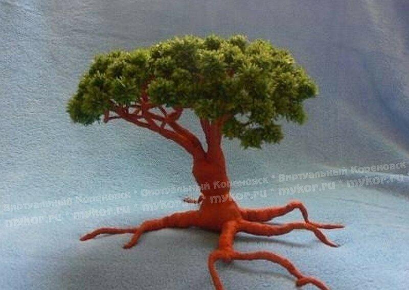 Деревья поделки из бумаги мастер класс