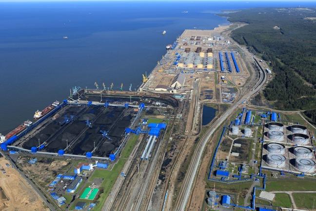 торговый порт Усть-Луга»