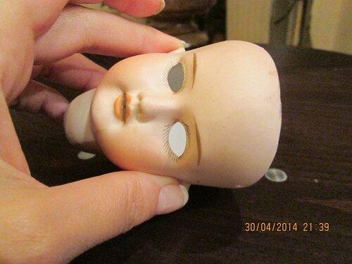 Реставрация антикварных кукол своими руками 44