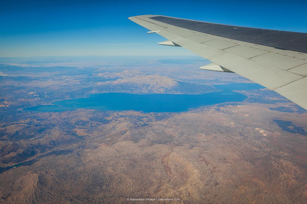 Турция из самолёта