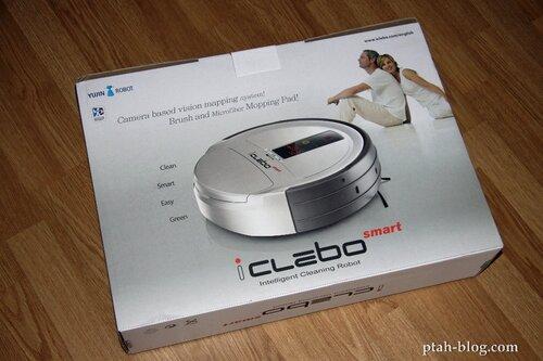 робот-пылесос, iclebo smart, роботы