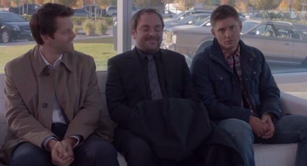 Видео за кадром: смешные моменты на съемках 9 сезона «Сверхъестественного»